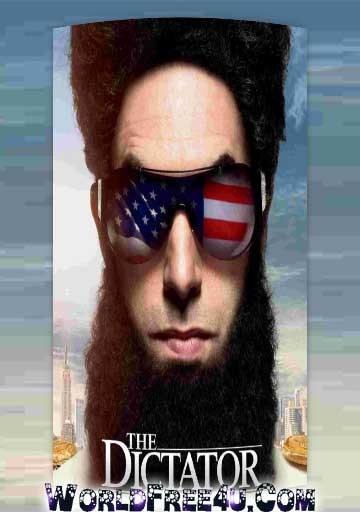 Poster Of The Dictator (2012) Full Movie Hindi Dubbed Free Download Watch Online At worldfree4u.com